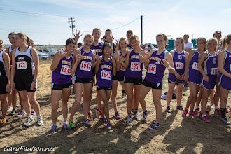 Photo: Varsity  Girls 5k Pasco Bulldog XC Invite @ Big Cross  Buy Photo: http://photos.garypaulson.net/p649440359/e452210c8
