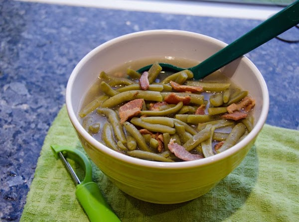Let beans set in pressure cooker until dinner (keep warm setting) and salt and...