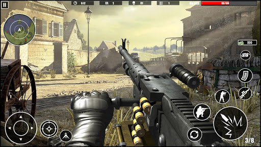 Machine Gun Simulator: Shoot War Gun Games 2020 1.0.7 screenshots 1