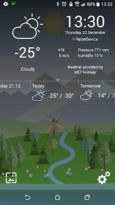 アニメーション風景予報ライブ壁紙 Animated Landscape Forecast FREEのおすすめ画像3