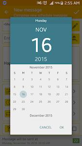 SMS Scheduler screenshot 3