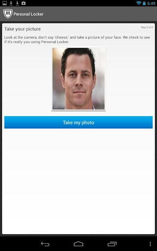 McAfee Personal Locker screenshot 9