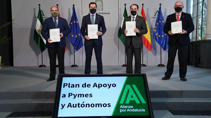 Plan de Apoyo a Pymes y Autónomos.