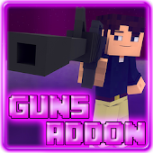 Guns Addon for MCPE 0.16+