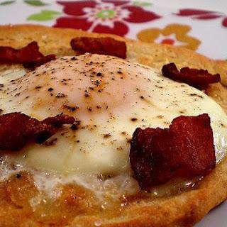 Quick Breakfast Pizza.