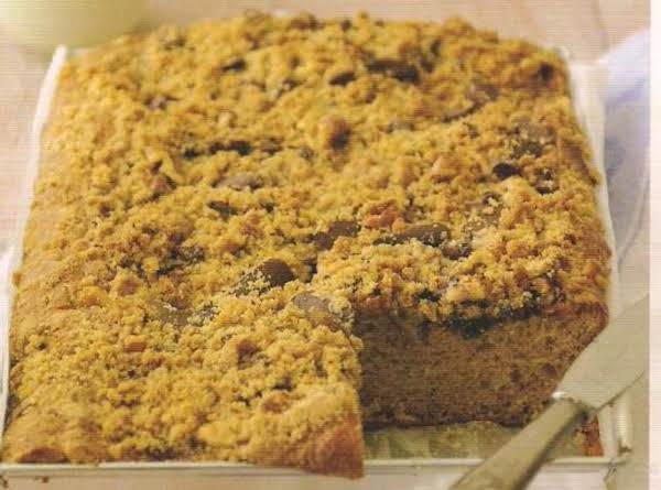Crunch Chocolate Chip Coffee Cake Recipe