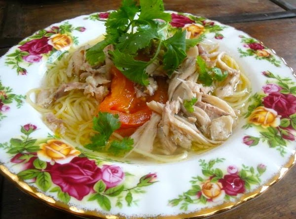 Malaysian Chicken Noodle Soup Recipe