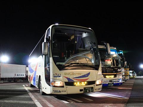 京成バス「K★スターライナー」 大阪・神戸線 H651 草津パーキングエリアにて その3