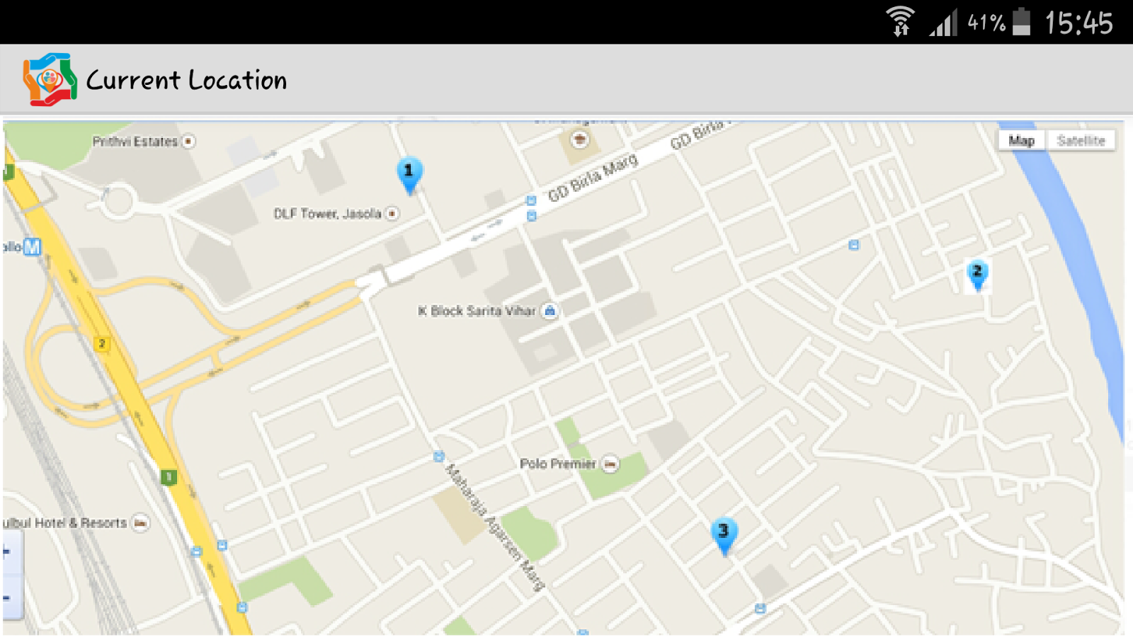 Location Tracker- screenshot