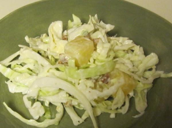 Cabbage Pineapple Salad Recipe