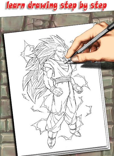 How To Draw DBZ Characters 1.3 screenshots 4