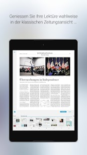 NZZ E-Paper- screenshot thumbnail