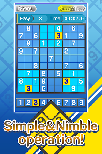 Basic NumberPlace Blue