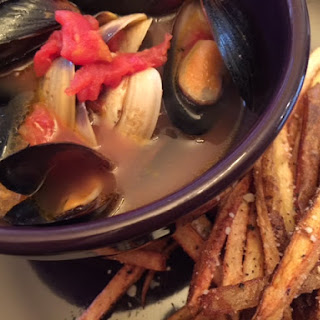 Mussels, Clams, and Frites.