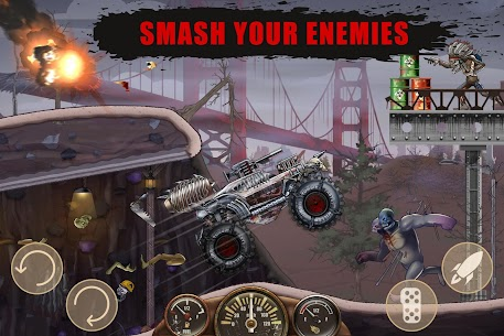 Zombie Hill Racing Mod Apk- Earn To Climb (Unlimited Money) 3