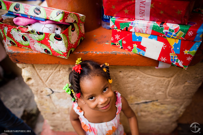Photo: Dominican Republic: 150 children in an all-girl orphanage, located in Santo Domingo receive gifts of Hope through Operation Christmas Child. See more photos here: http://ar.gy/occdrphoto