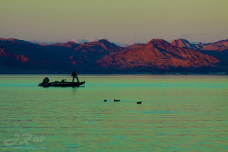 Photo: Sunset at Lake Mead