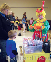 Photo: The Mini Jubilee was held at the Nisswa Community Center and  featured fun, activities, and games for children of all ages last  Saturday morning - photo by Brenda Brodmarkle
