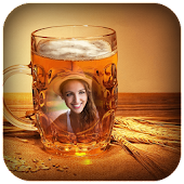 Beer Glass Photo Frames