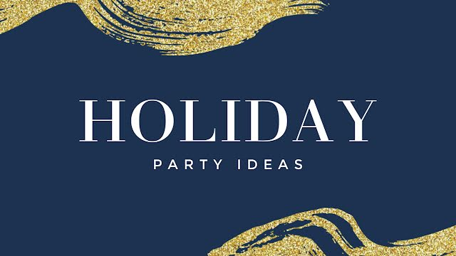 Holiday Party Ideas - Christmas Template