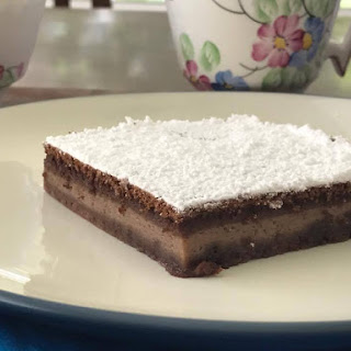 Fairytale Chocolate Custard Cake.