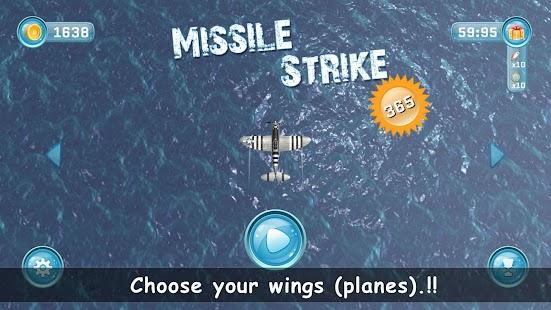 Missile Strike : War Arcade screenshot