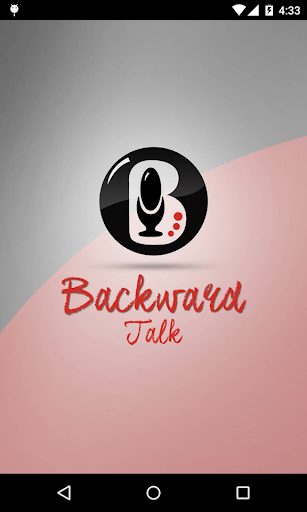 Backward Talk
