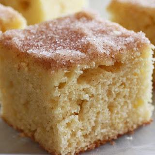 Cinnamon Donut Cake