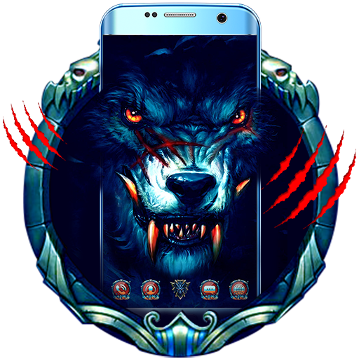 Scary Cruel Wolf Dark Night Spike King Theme