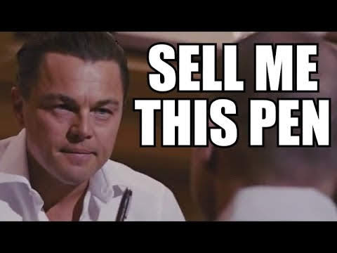 The Wolf of Wall Street: Sell me this pen!