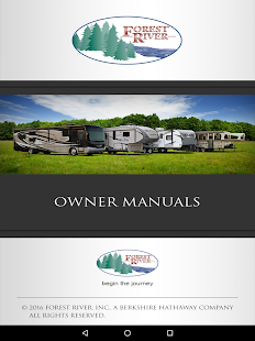 Forest River RV Owner's Kit- screenshot thumbnail