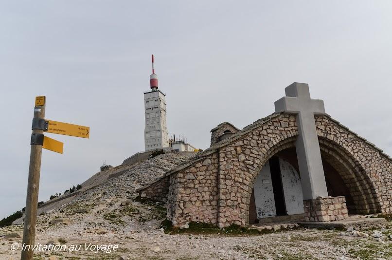 Mont Ventoux, chapelle Ste Croix