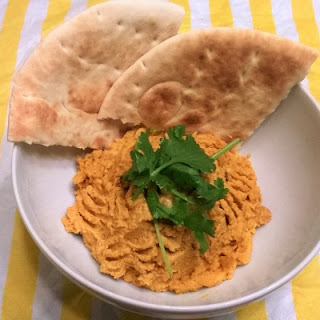 Spicy Curry Hummus.