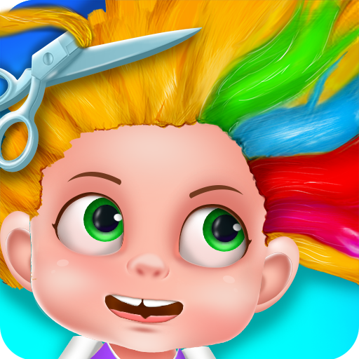 Hair Salon Games for kids - Hair Beauty Salon