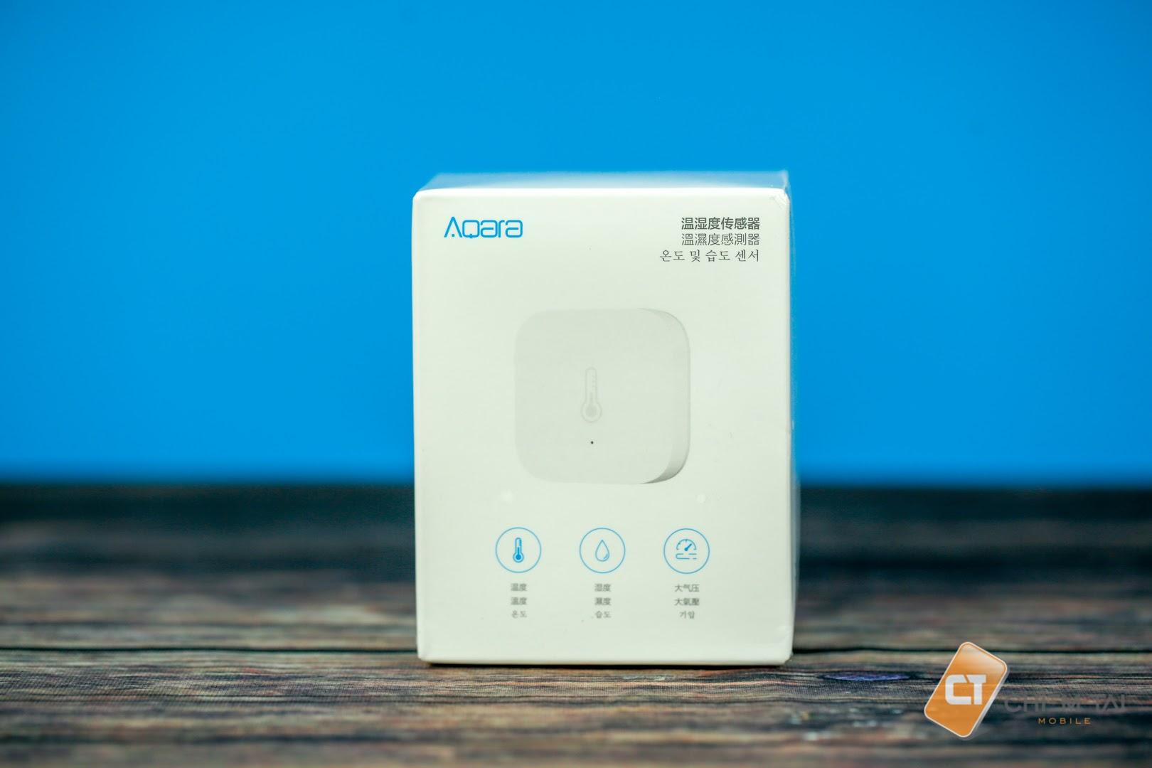 Cảm biến nhiệt độ độ ẩm thông minh AQARA Xiaomi (chung bộ Homekit)