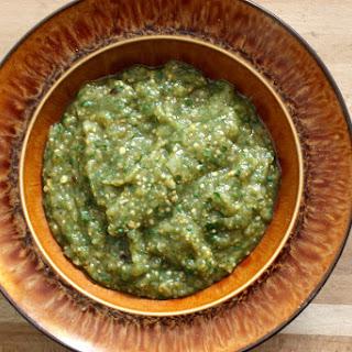 Roasted Salsa Verde.
