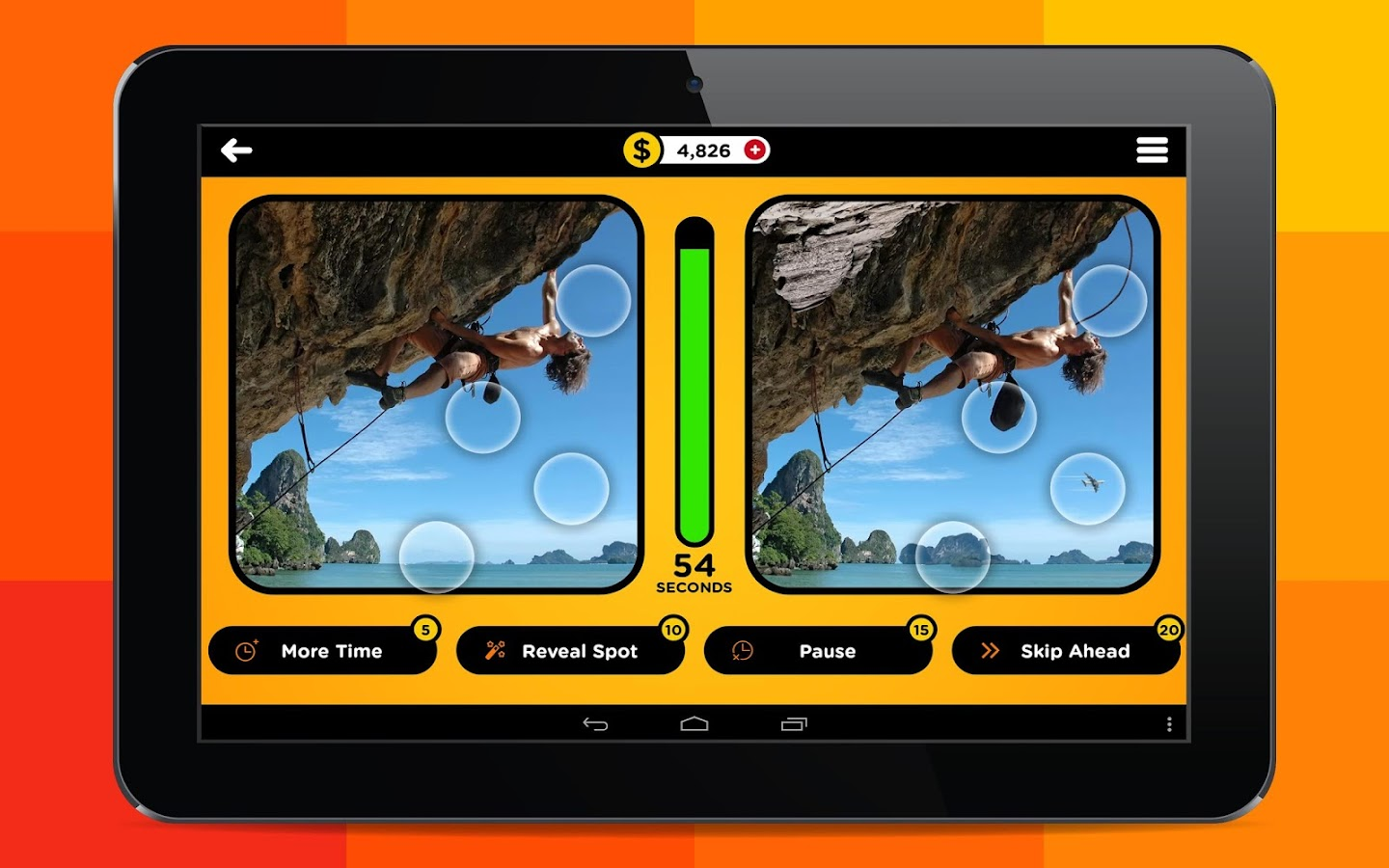 Tap 5 Differences- screenshot