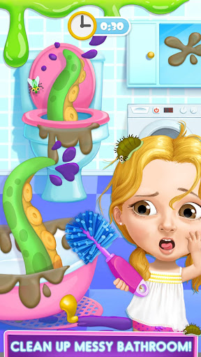 Sweet Baby Girl Hotel Cleanup - Crazy Cleaning Fun 1.0.3 app download 1