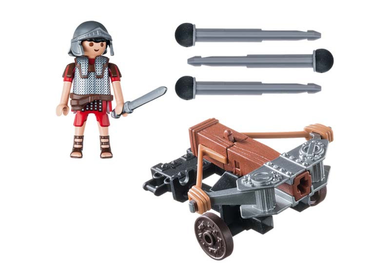 Contenido real de Playmobil® 5392 Legionario con Ballesta