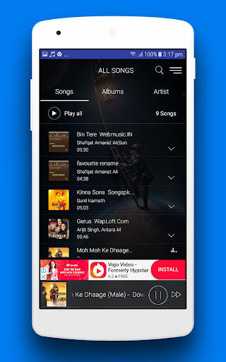 MX Audio Player Pro - Music Player 1.7 screenshots 3