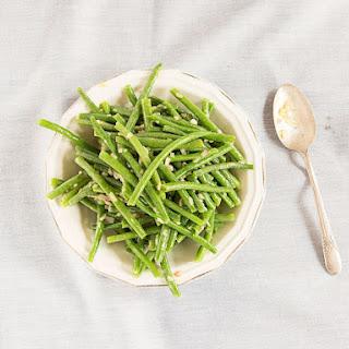 Haricots Verts with Dijon Vinaigrette