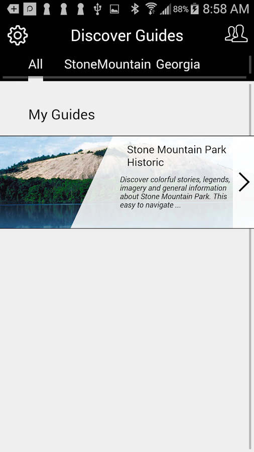 Stone Mountain Park Historic- screenshot
