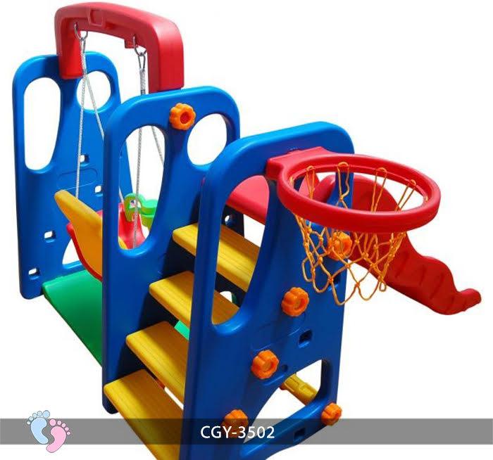 Cầu trượt trẻ em đa năng YGC-3503 14