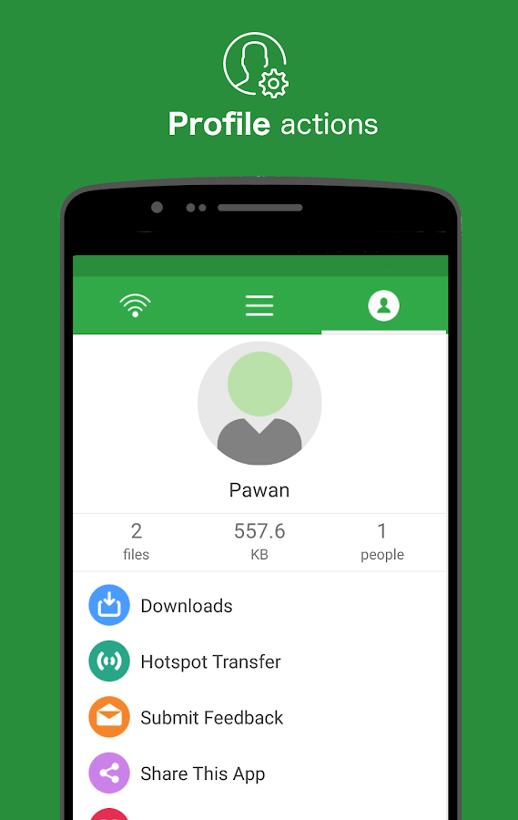 Liwi - Connect & Transfer- screenshot
