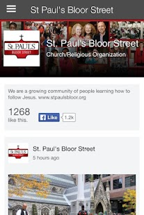 St Paul's Bloor Street- screenshot thumbnail