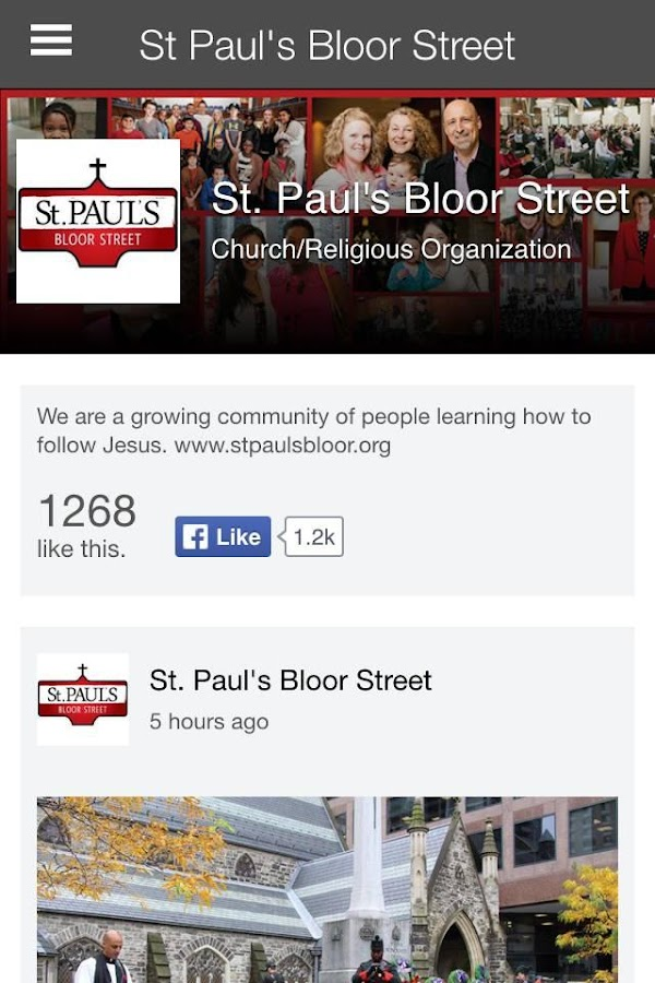 St Paul's Bloor Street- screenshot