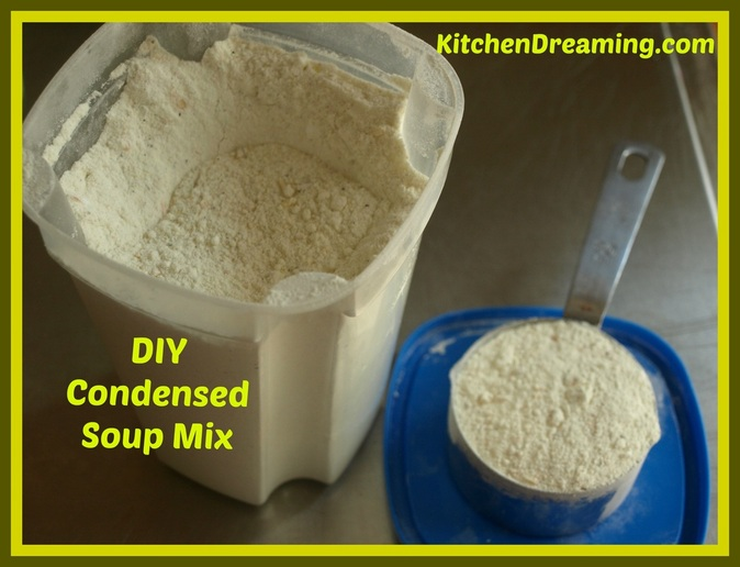 Homemade Condensed Soup Mix Recipe