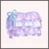 紫色の波紋