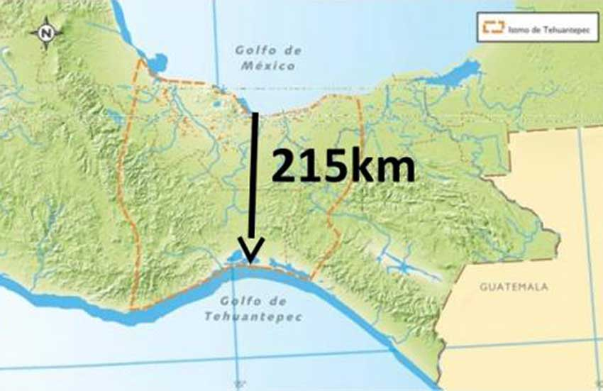 Billedresultat for isthmus of tehuantepec