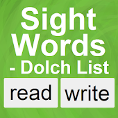 Sight Words - Dolch List